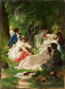 Eugen_Klimsch_Das_Picknick_1894