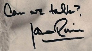 JoanRivers'autograph